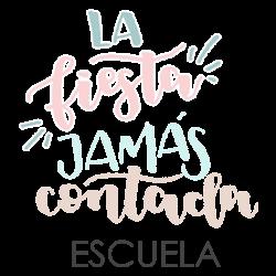 Logotipo La Fiesta Jamás Contada Escuela