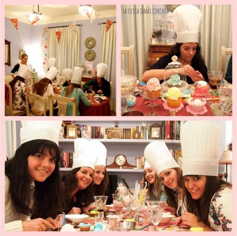 """Taller de Cup cakes Cup cakes party"""