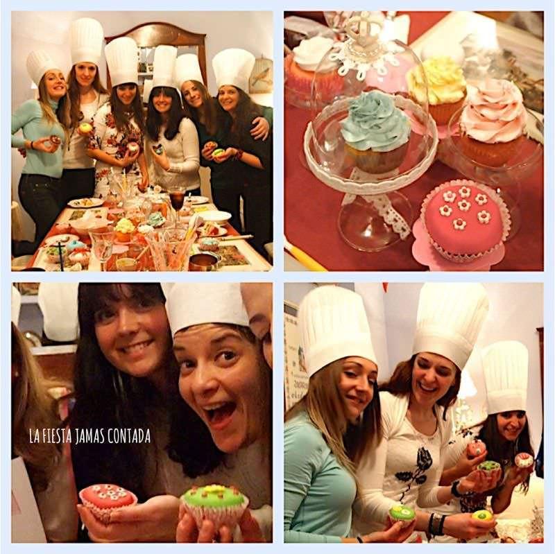 """""""Cumpleaños con Cup cakes party"""