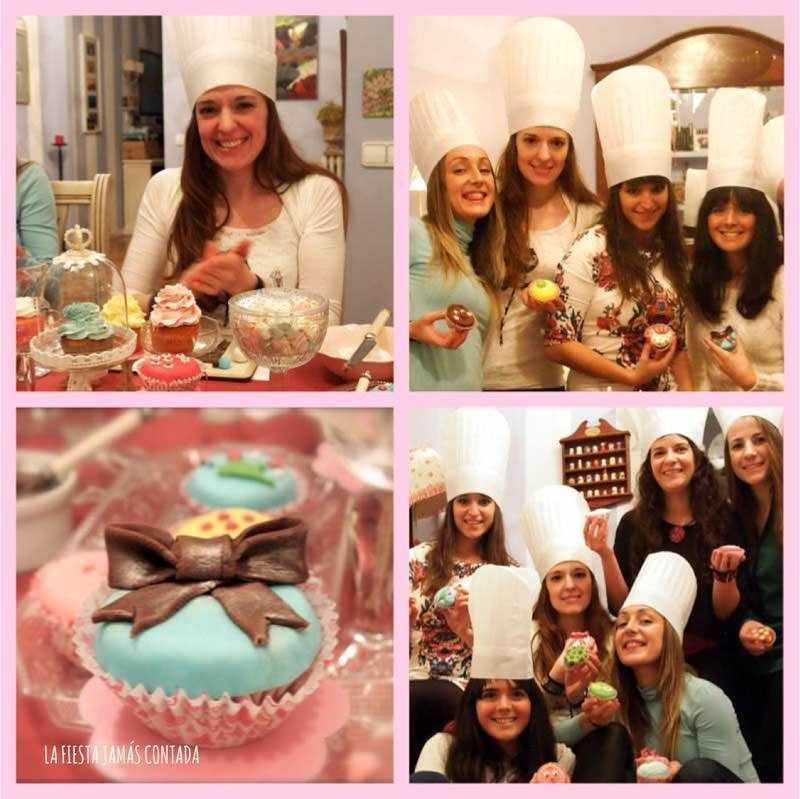 Cup cakes party para cumpleaños
