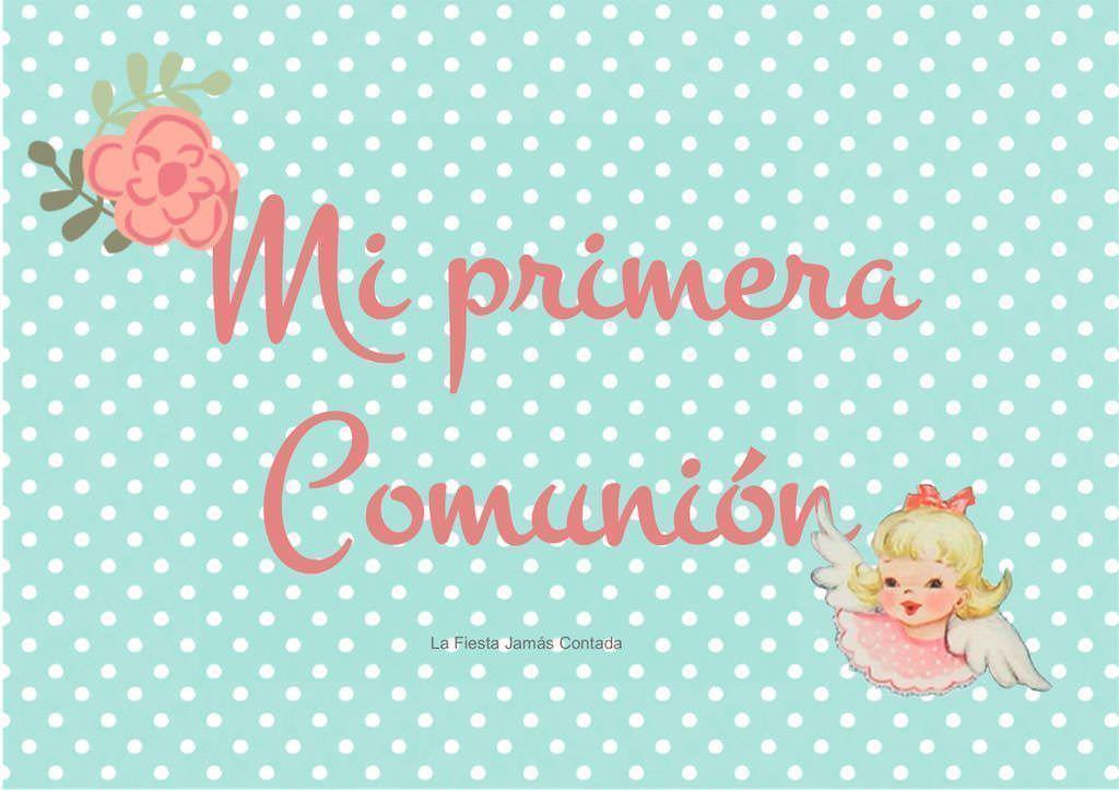 Photocall Primera Comunion 3 La Fiesta Jamás Contada