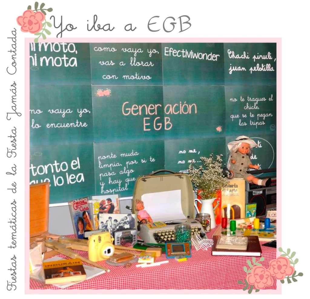 La novia iba a E.G.B ATREZZO_EGB