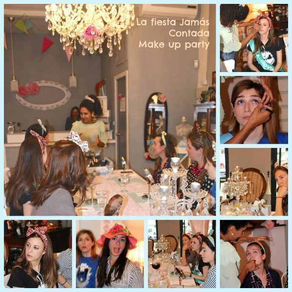 Make up Party en LFJC despedida de soltera