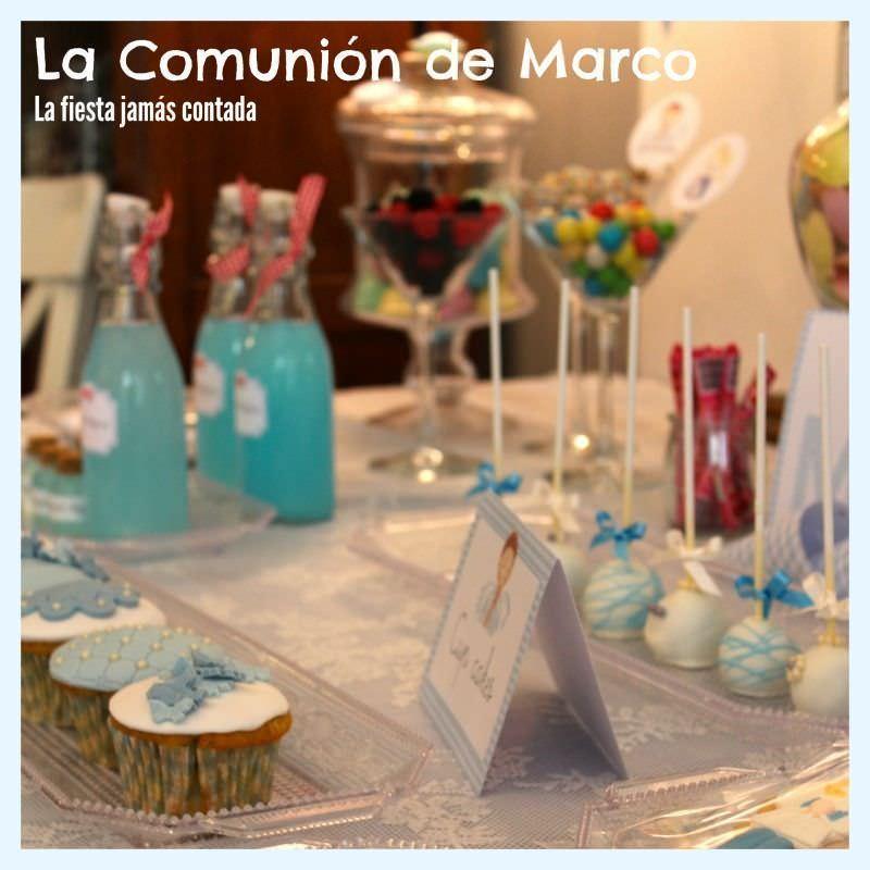 la comunión de Marco en LFJC