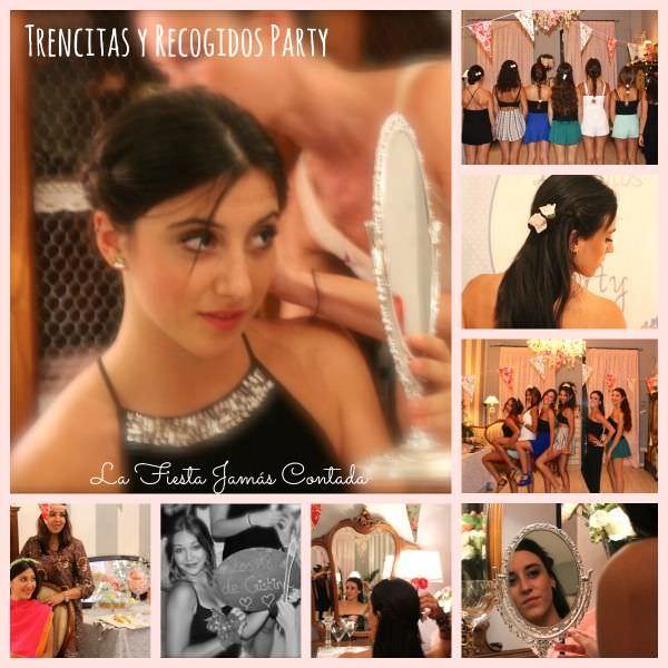 """"""" la fiesta 18 cumpleaños Beauty party de Cris Trencitas y mojitos sin alcohol"""""""