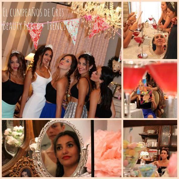 """""""Fiesta 18 cumpleaños de Cris Fiesta Trencitas Beauty Party"""""""