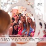 Cursos de eventos y candy bar
