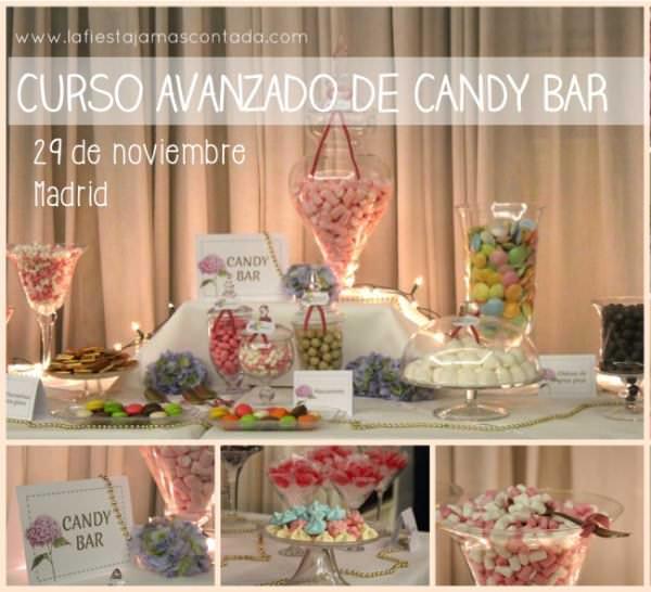 """""""Cursos de eventos avanzado. Candy Bar"""""""