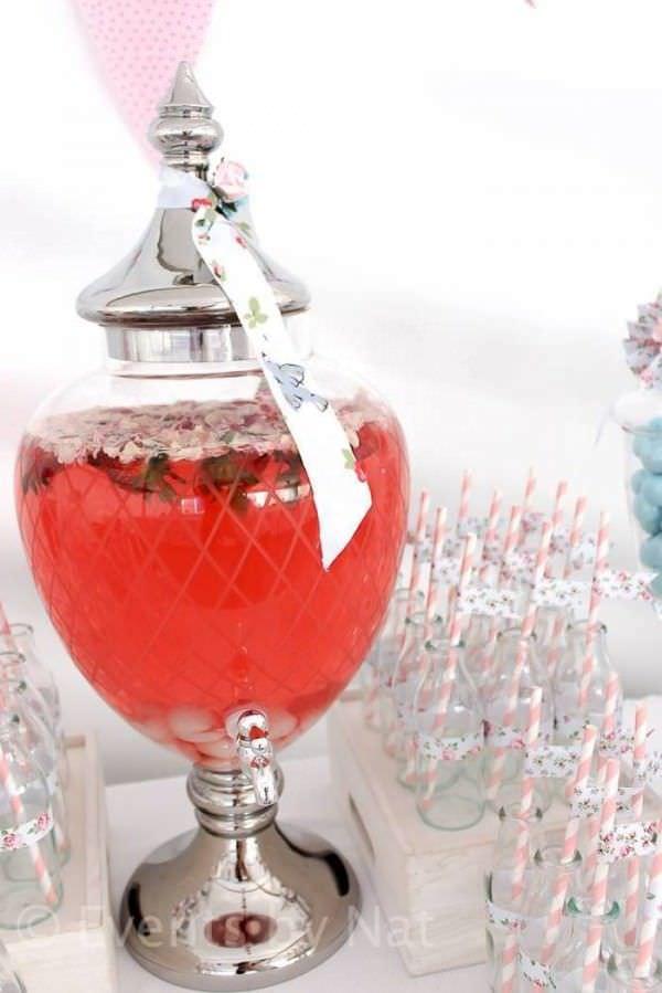 Fiestas shaby chic limonada