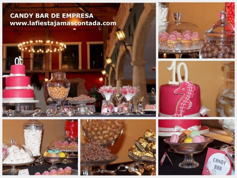 Candy Bar de empresa
