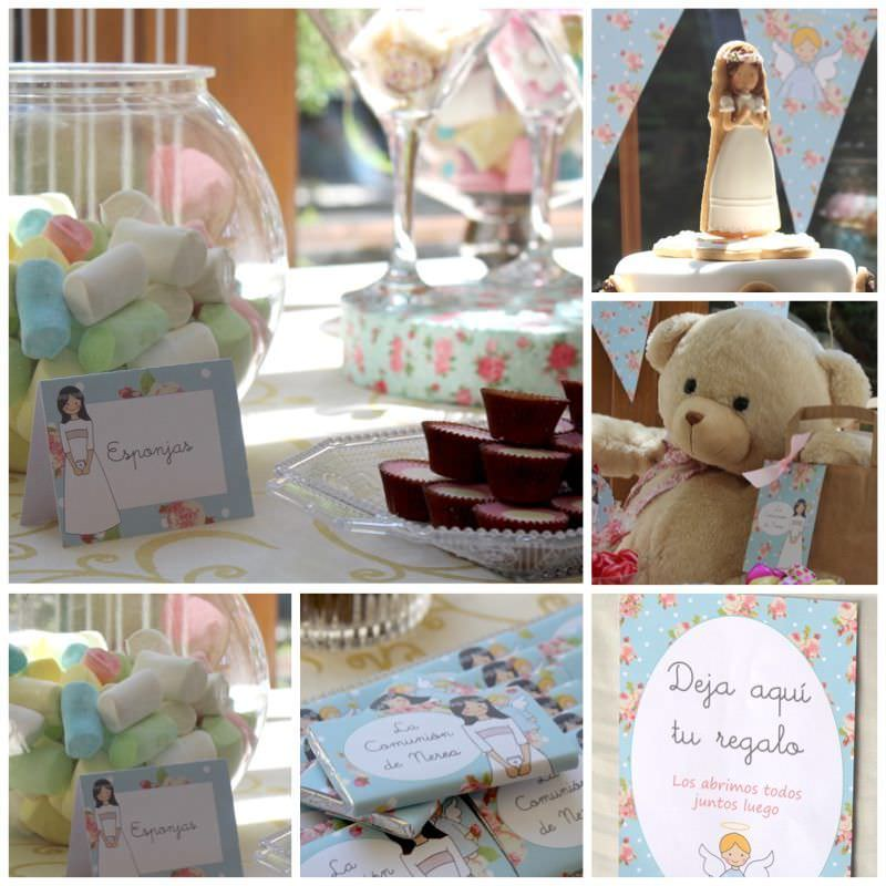 IDEAS PARA COMUNION CANDY BAR