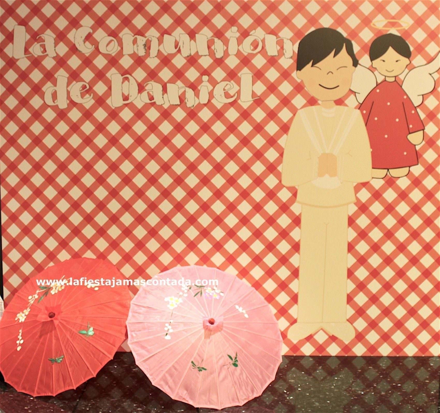 photocall comunión chino
