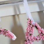 Como hacer letra flores