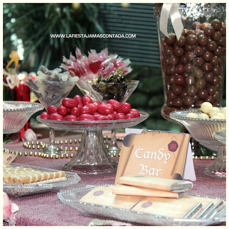 candy bar boda