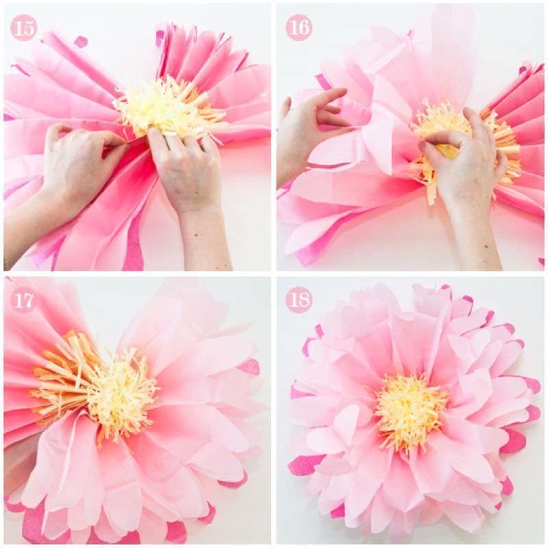 Como Hacer Flores De Papel - Hacer-flores-con-papel
