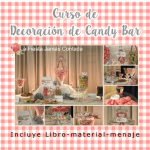 Cursos de candy bar o mesas dulces