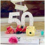 Como celebrar un 50 cumpleaños