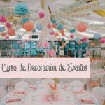 Curso de decoración de eventos