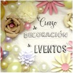 Curso de decoración de eventos Madrid
