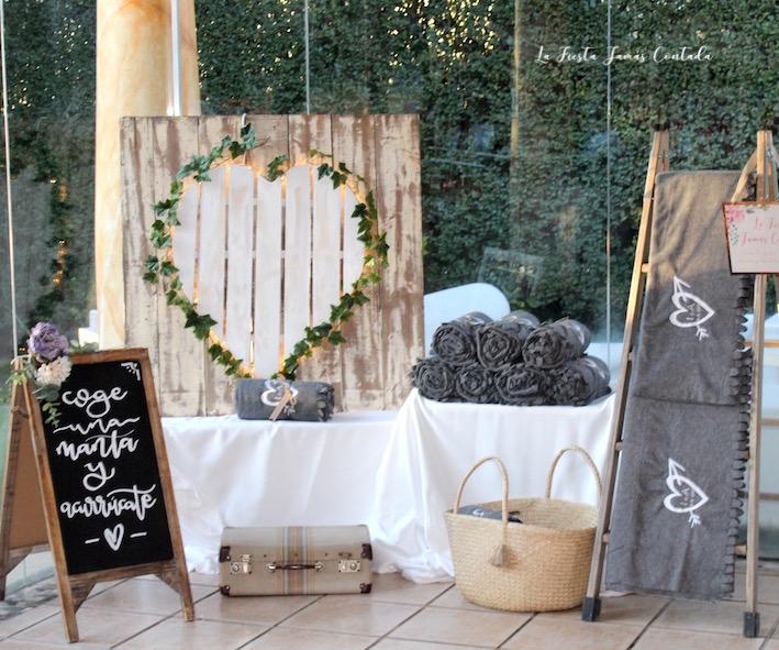mantas para boda