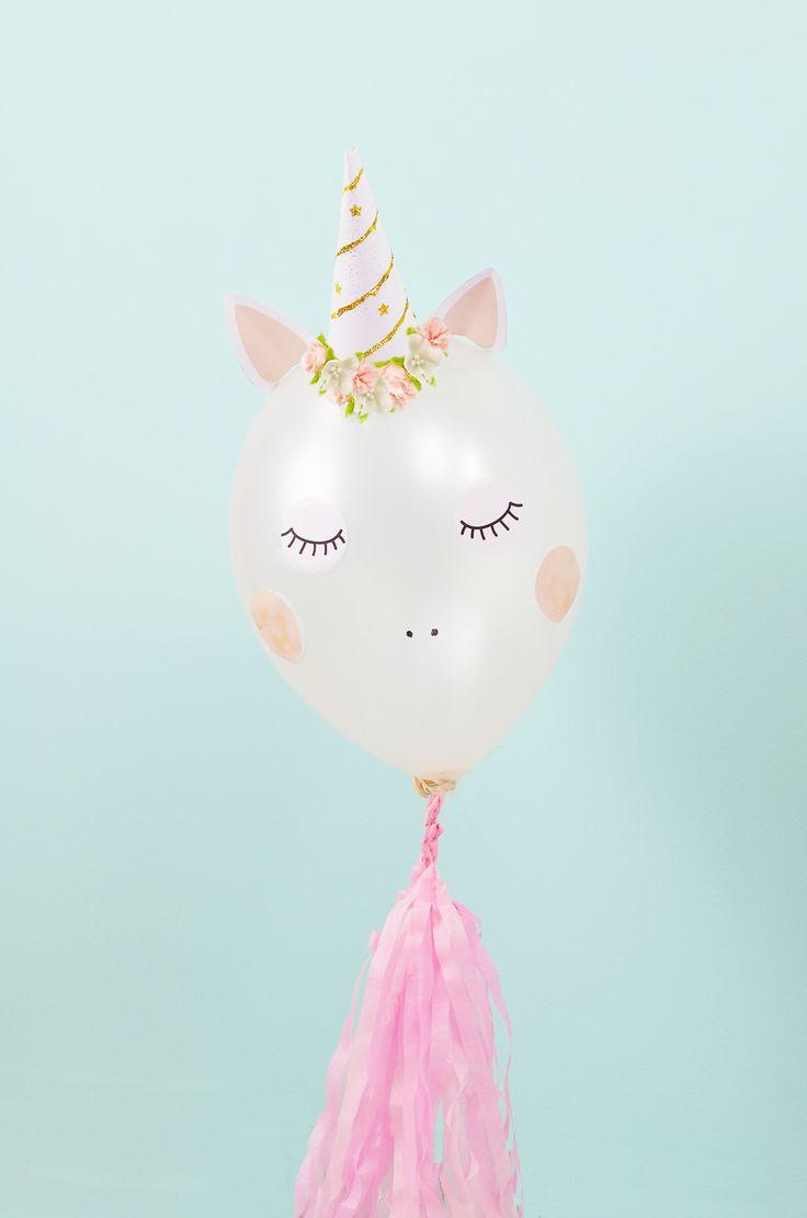 globo de unicornio
