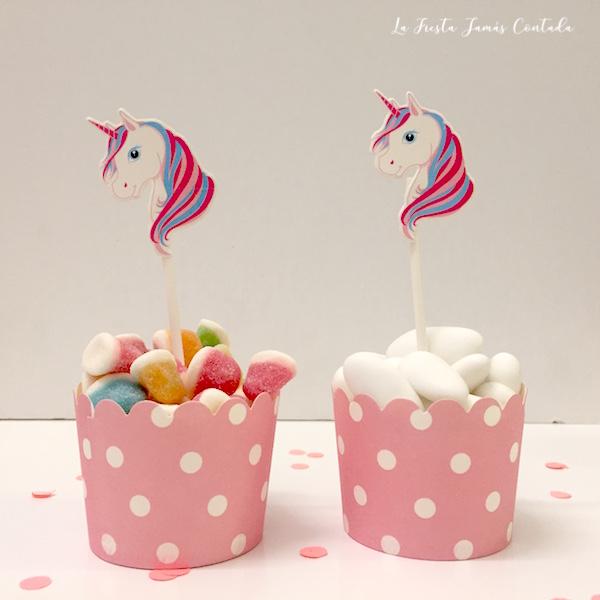 dulces de unicornio