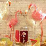 Candy bar flamingo – 18 cumpleaños