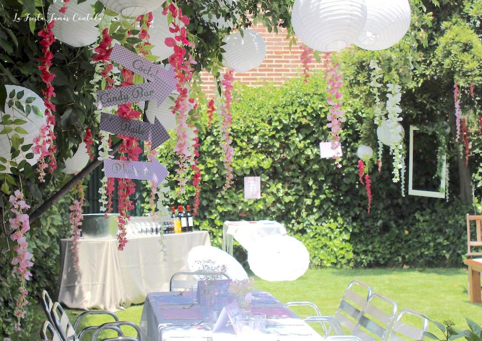Comuniones en casa for Detalles para decorar jardines