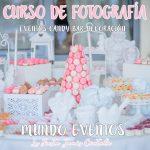 Fotografía de candy bar y eventos
