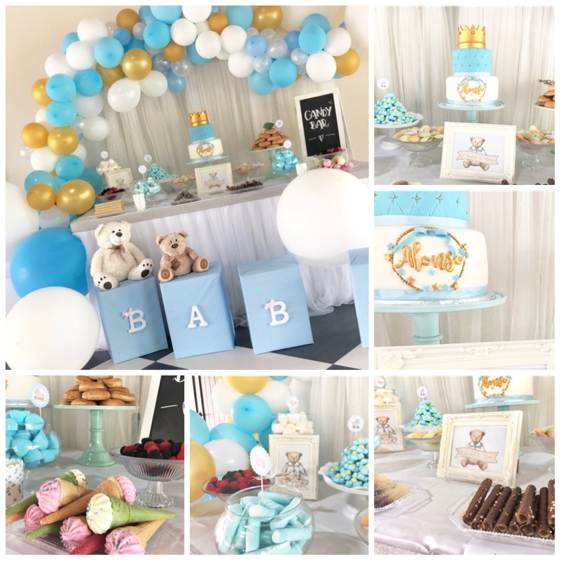 candy bar bautizo encanto