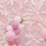 La Comunión de flores de papel