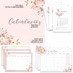 Calendarios de 2020 gratis