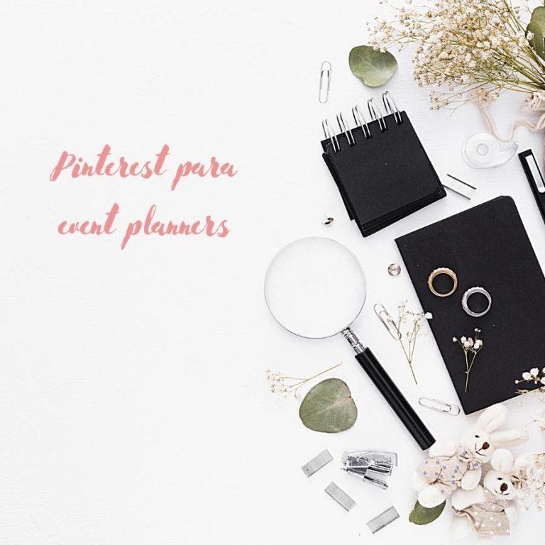 Cómo usar Pinterest para tu negocio de party planner